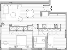 隔間不做滿 ~ 可全開式 20 坪公寓改造 - DECOmyplace 新聞台