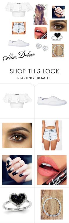 """""""Nina """" by pontesthuany on Polyvore featuring Alexander McQueen, Fiebiger, Kevin Jewelers and Kiki mcdonough"""