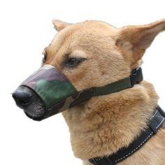 Diy dog muzzle chico pinterest dog muzzle dog and animal no bite nylon camouflage dog muzzle solutioingenieria Gallery