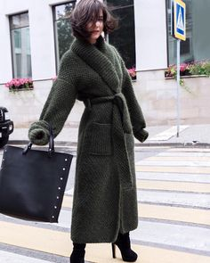 Sweater Coats, Knit Cardigan, Knitted Coat, Knitwear Fashion, Winter Outfits Women, Cardigans For Women, Casual Wear, Fashion Outfits, Clothes