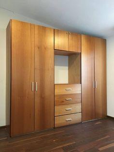 Home Stairs Design, Bedroom Door Design, Bedroom Cupboard Designs, Bedroom Cupboards, Wardrobe Interior Design, Wardrobe Design Bedroom, Closet Bedroom, Lcd Wall Design, Bed Design