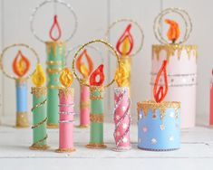 Christmas Tree Branches, Christmas Candles, Christmas Paper, Retro Christmas, Christmas Projects, Holiday Crafts, Christmas Time, Christmas Decorations, Christmas Ornaments