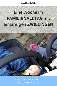 Eine Woche im FAMILIEN-Alltag mit fast einjährigen ZWILLINGEN. #familienleben #zwillinge #zwillingseltern #alltagmitkindern Twins, Raising Twins, Twin Outfits, Family Life, Breast Feeding, Kids Wagon, Gemini, Twin