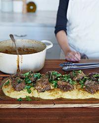 Smoked Porter-Braised Beef Short Ribs Recipe on Food & Wine