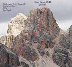 via ferrata | The Italian Dolomites - Via ferrata Tomaselli 01