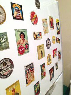 Casa de Colorir: Ímãs de geladeira - Faça você mesmo!