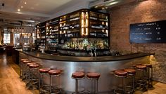Sophies Steakhouse | Bar Design | Cantilever Bespoke Back Fittings, Tops, Fronts