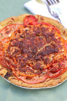Savory Southern Tomato Pie
