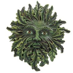 Fantasy Green Treeman Wall Plaque