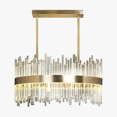 Bond Street Round Chandelier   Ceiling Lights   Bella Figura   The World's Most Beautiful Lighting