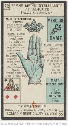 Grand jeu de la main : [jeu de cartes, estampe] ([Exemplaire colorié]) - 1890