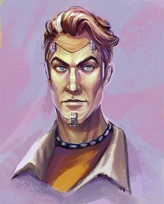 """cranberrymymo: """" Handsome Jack """""""