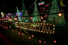 Christmas Lights Bay Area Pleasing Many Homes Are Overthetop With Christmas Lights On Eucalyptus Decorating Design