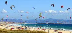 Tarifa, Spain. A ferry ride away from Morocco.........