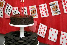 Oreo cake & card banner