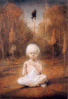 odd nerdrum, self portrait as a baby