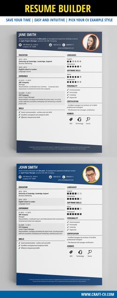 Resume Example - Professional Resume Template #resume - Cv Example
