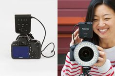 Oh! Wow. Ring Light - The Photojojo Store! Too made they don't make it for the Panasonic! SOLD