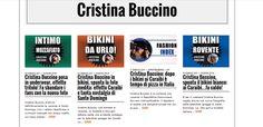 CRISTINA BUCCINO: UNA DIVA DEI NOSTRI TEMP! #vip #gossip #models #sexy #bikini #fashion #cristinabuccino