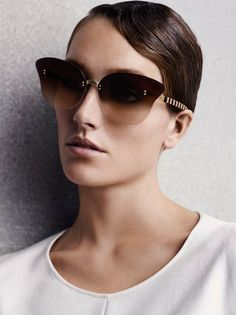Joséphine Le Tutour by Solve Sunsbo for Giorgio Armani S/S 2015
