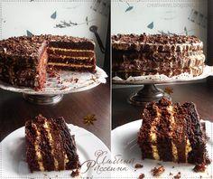 """Вкусный шоколадный торт """"Лунная ночь"""". Chocolate Cake """"Moonlit Night"""" : На крыльях вдохновения."""
