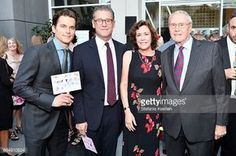 With Simon's parents  Matt Bomer, Simon Halls, Mindy Halls and James Halls attend Uplift Family Services at Hollygrove Gala at W Hollywood on May 18, 2017 in Hollywood, California.
