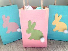 DIY Easter Bunny Bags - free printable