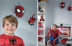 #Spiderman in your room? NO WAY! #3DLightFX #3DDecoLight