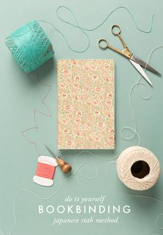 Make a handmade book from a sketchpad.