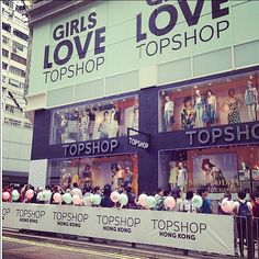 Yay! Weve opened in Hong Kong. So excited for those girls visiting our store for the first time @topshop_hk! #girlslovetopshop #topshop #hongkong #fashion #shopping #style