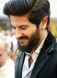 Cute smile of dulquer