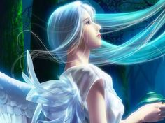 My angel is trying to tell me to let people into my heart.... That is some thing I do stugle with