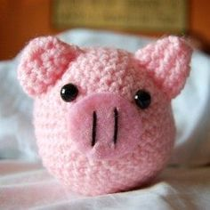 Crochet pig patterns