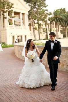 Radiant Orchid Wedding at The Resort at Pelican Hill, CA | Photo by Pepper Nix Photography