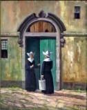 Daughter returning home; Brazil, Rio de Janeiro, Daughter of Charity Museum. Daughters Of Charity, Bride Of Christ, Image Archive, Roman Catholic, Mystic, Creepy, Museum, Brazil, Brides
