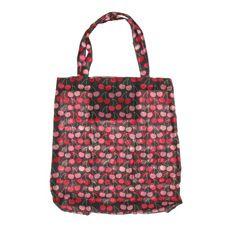 Cherry Print Tote Bag