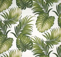 Tropical Leaf Pattern Tropical leaf prints