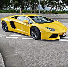 Stunning Aventador taking to the streets! Discover more this #SupercarSunday by hitting the image.