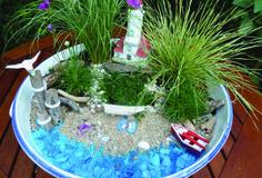 succulent miniture garden | miniature container gardens art quilts succulent gardens dream in ...