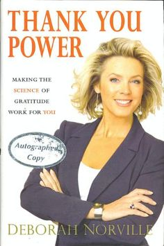 Thank You Power: Making the Science of Gratitude Work for You: Deborah Norville: 9780785221937: Amazon.com: Books