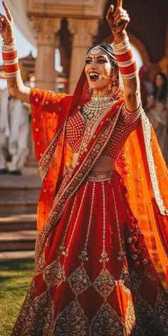 Bridal 30 Exciting Indian Wedding Dresses That You& Love Indian wedding dresses a. Alpi , 30 Exciting Indian Wedding Dresses That You& Love Indian wedding dresses a. [ 30 Exciting Indian Wedding Dresses That You& Love Indian w. Red Wedding Gowns, Desi Wedding Dresses, Bridal Dresses, Wedding Bride, Gothic Wedding, Wedding Ceremony, Yellow Wedding, Decor Wedding, Wedding Updo