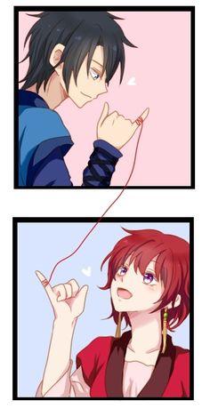 Akatsuki no Yona - you have NO IDEA just how stinkin' hard I ship this!