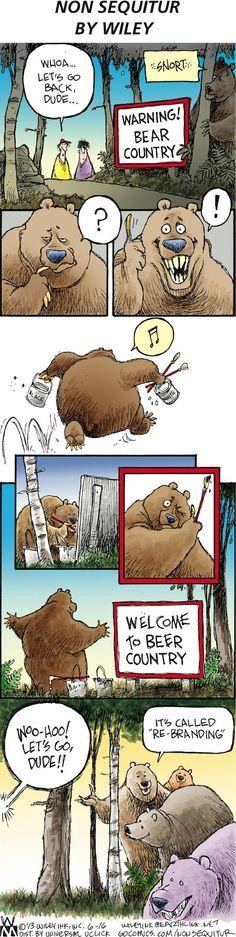 Bears get into re-branding