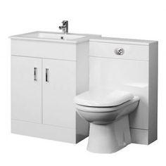 Luxury Bathroom Suite WC Set 600 Turin Vanity BTW Unit D Shaped Toilet for sale online Toilet Vanity, Bathroom Vanity Units, Bathroom Furniture, Bathroom Shop, Big Bathrooms, Bathroom Ideas, Toilet And Sink Unit, Toilets For Sale, British Bathroom