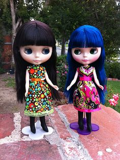 Sewing for Blythes - Links to Sewing Patterns for Blythe dolls