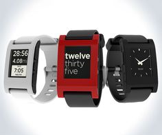 Pebble E-Paper Smartphone Watch | DudeIWantThat.com