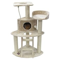The 48 Majestic Pet Products Faux Fur Cat Tree * You can get more details by clicking on the image.
