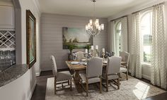 Coventry Homes | formal dining room