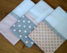 45 Ideas For Patchwork Quilt Knitted Pro - Diy Crafts - maallure Draps Design, Dish Towel Crafts, Baby Sheets, Baby Nails, Burp Rags, Baby Sewing Projects, Baby Kit, Patch Quilt, Cushions On Sofa