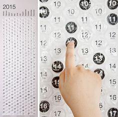 Bubble Calendar